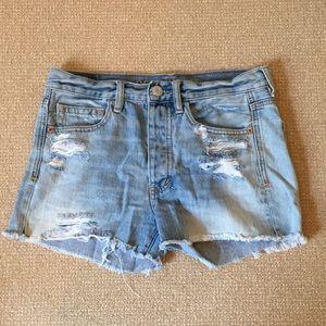 American Eagle Light Jean Shorts Size 2
